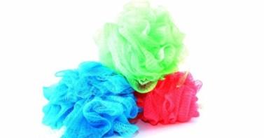 Colored-Loofah